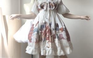 自制lolita,奶上款jsk裙子教程