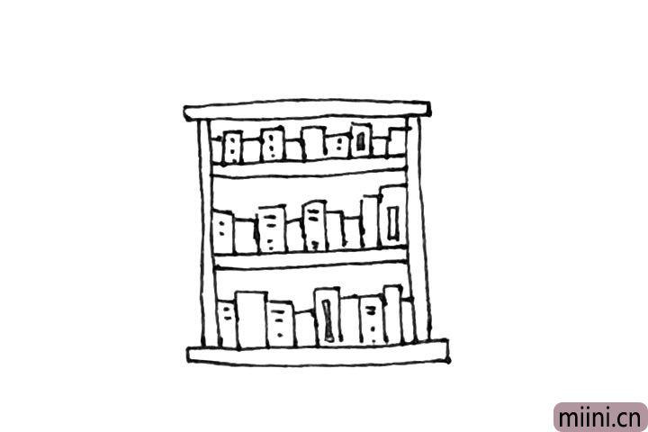 6.书本上,可以随意加上一点装饰丰富下。