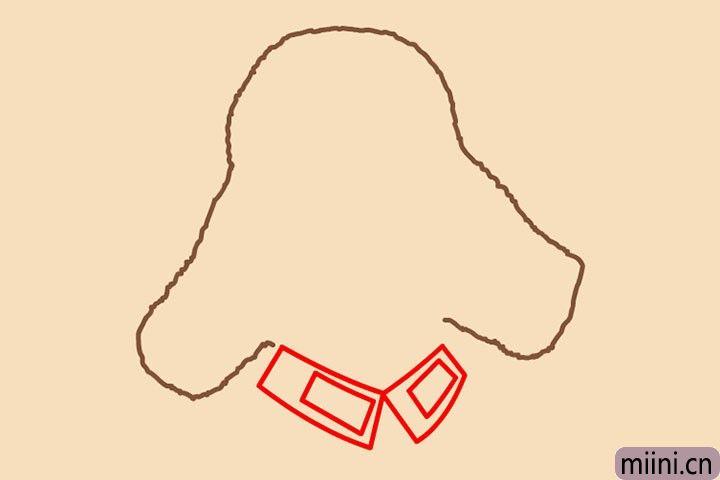 3.四根直线,变变变,边城方块。