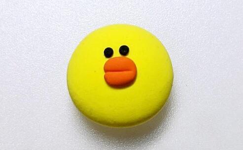 大饼脸小鸭子粘土制作教程