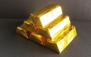 清明节上坟用的折纸金光闪闪的金砖步骤