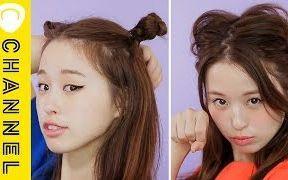 万圣节变装的两款发型教程
