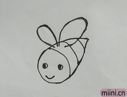 小密蜂简笔画01.jpg
