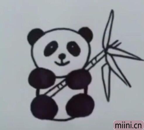 大熊猫简笔画01.jpg
