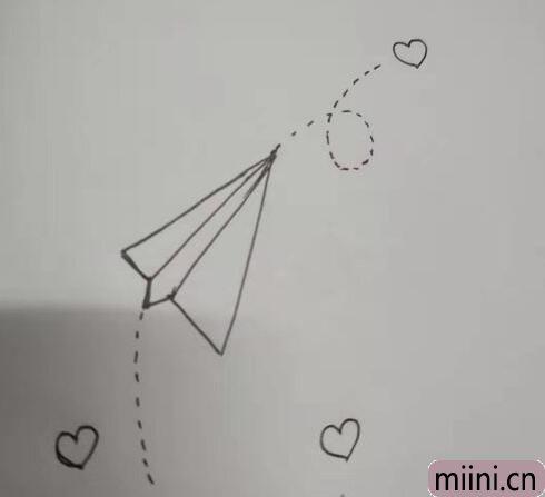 纸飞机简笔<a href=http://www.miini.cn/hhds/ target=_blank class=infotextkey>画</a>01.jpg