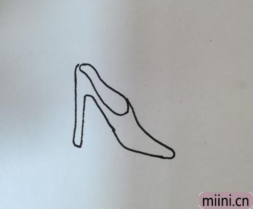 高跟鞋简笔画04.jpg