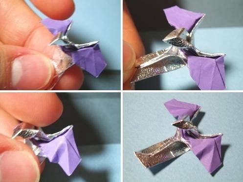 星际争霸中飞龙的折纸方法3