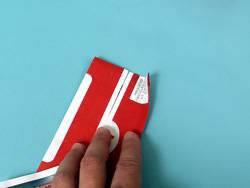 F1赛车服的折纸教程5