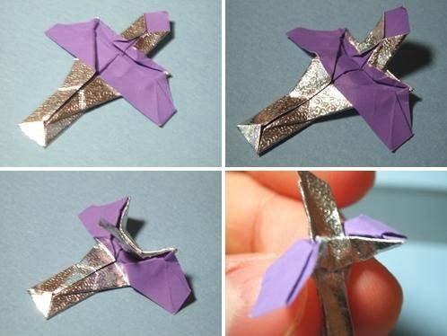 星际争霸中飞龙的折纸方法2