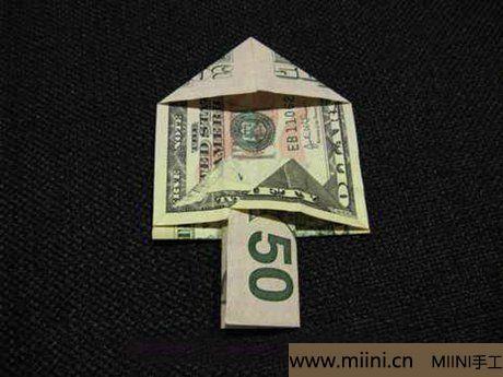 用钞票折叠圣诞树7