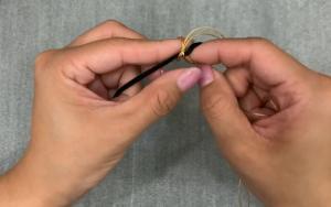 非常详细的本命年黄金金刚结转运珠手链编织教程