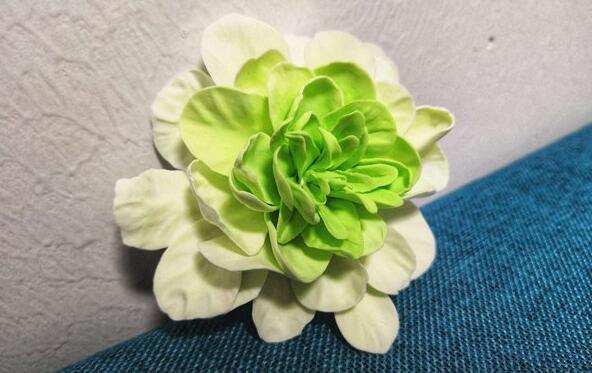 很好看的粘土花朵制作步骤教程