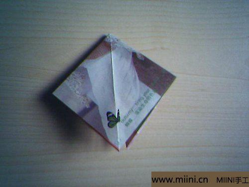 漂亮的折纸杯垫的折叠方法4