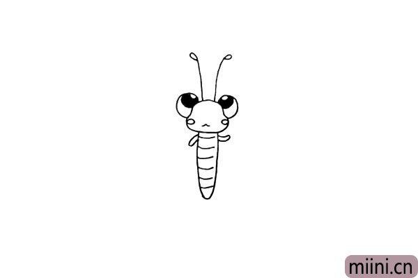 10.身体的两边画上它小小的胳膊.注意位置和形状。