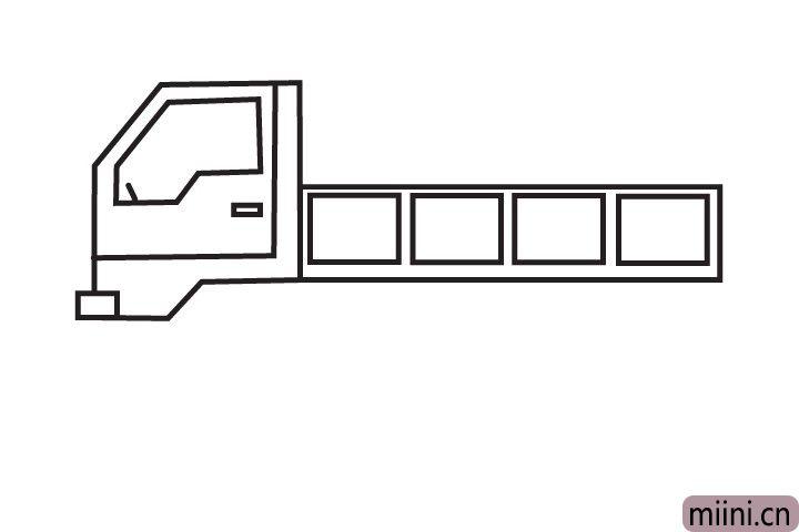4.下面我们来画车厢。
