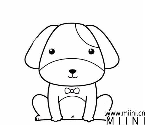 小狗简笔<a href=http://www.miini.cn/hhds/ target=_blank class=infotextkey>画</a>01.jpg