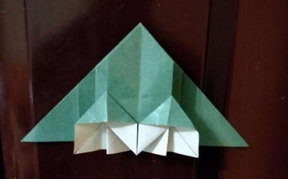 别墅的折纸步骤教程