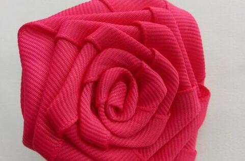 螺纹带制作玫瑰花步骤教程