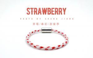 草莓式手工编绳教程
