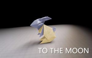教大家做一个还原度很高的折纸兔子方法
