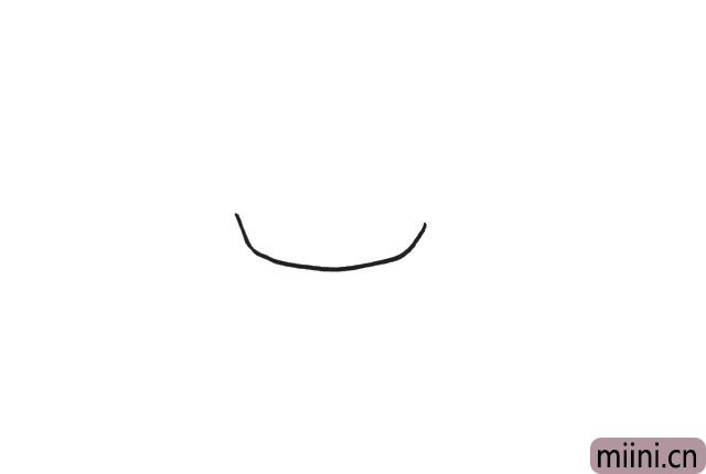 1.最开始画一个方方的脸,不要太高哦。