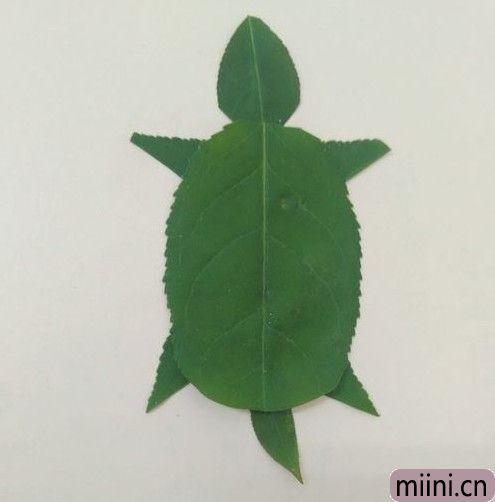 树叶做乌龟09.JPG