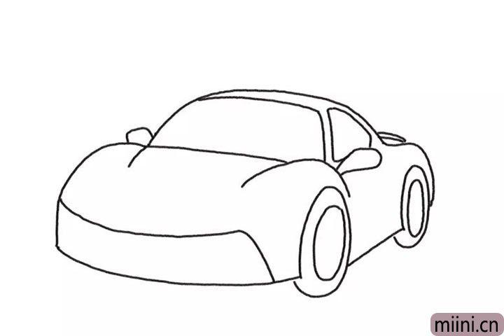 4.反光镜以及车辆的车轮厚度。
