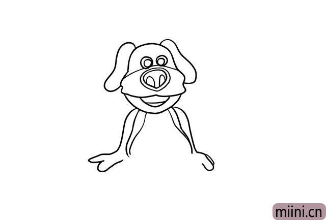 6.下面是狗狗本的两只胳膊。