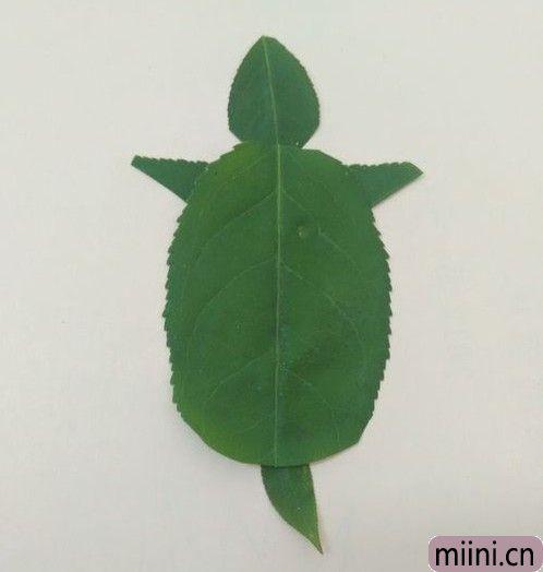 树叶做乌龟07.JPG