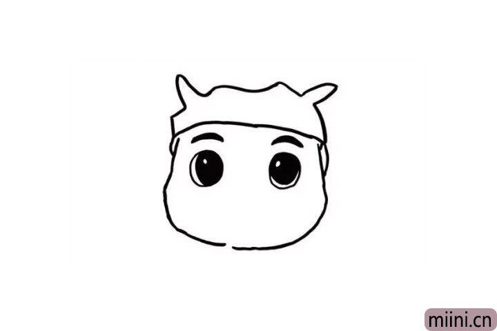3.黑黑的眉毛、大大的眼睛,使猪猪侠的形象更加生动,小朋友们觉得呢?