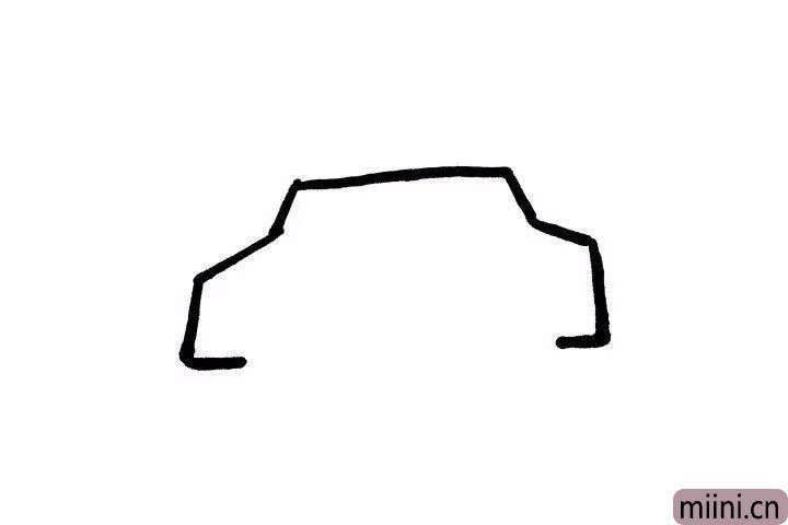 2.画过小汽车的小朋友们现在画出租车的车头和车尾时候不是手到擒来呢?