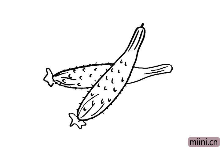 6.还有它身上的毛刺.注意毛刺之间的距离