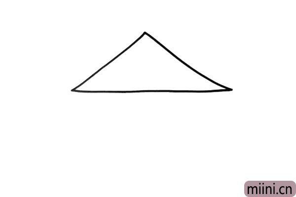 1.马戏团大棚的顶部是一个三角形的造型。