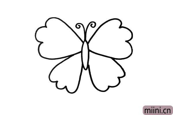 2.蝴蝶的不同,主要是在翅膀的设计上。