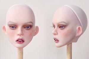 制作一个真人风bjd娃头,带你了解bjd娃娃的诞生