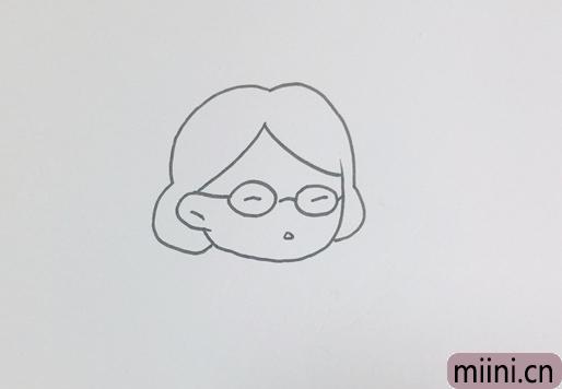 语文老师怎么画