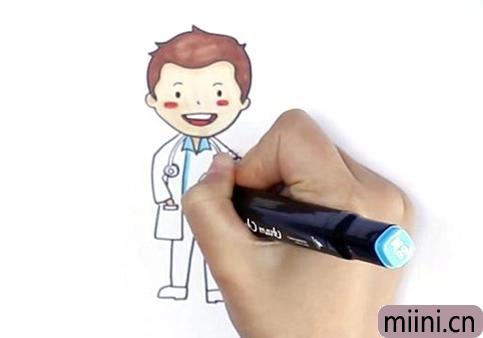 医生应该怎么画