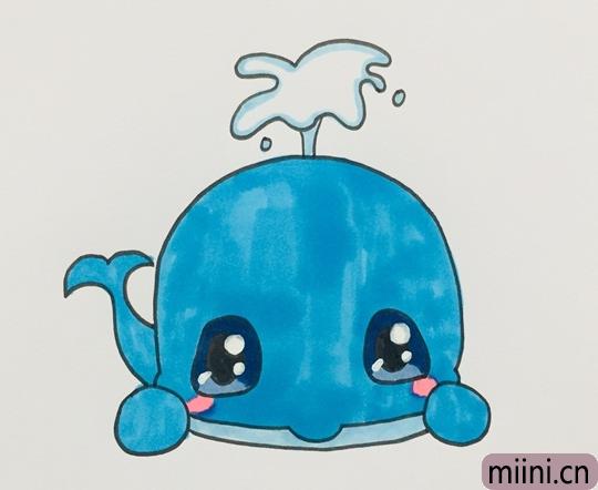 蓝鲸怎么画