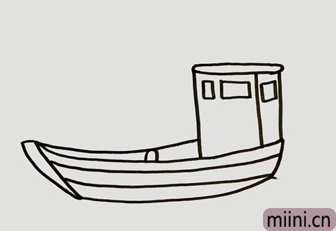 渔船怎么画