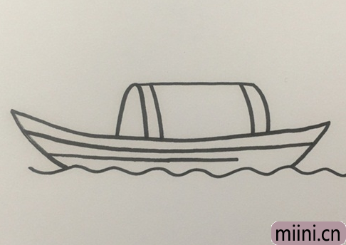 木船怎么画