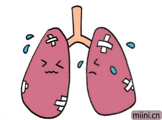 肺炎简笔画步骤教程