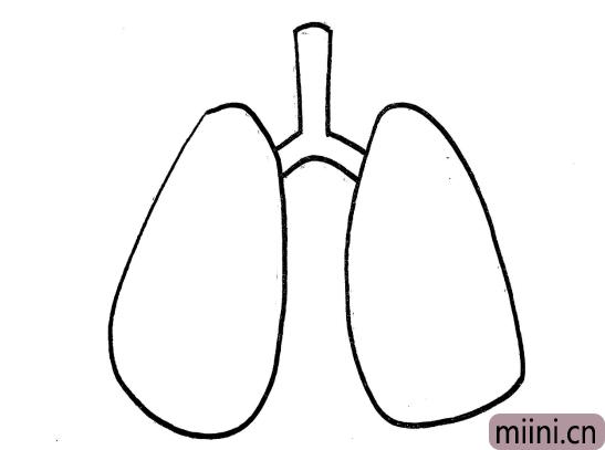 肺炎简笔画