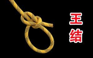 古代农民太有智慧了,创造了这个绳结之王,生活中它是一个保命结