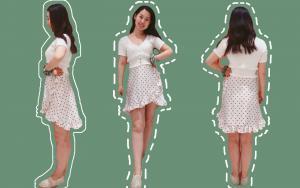 怎么缝纫一片裙?上身超复古!详细缝纫步骤