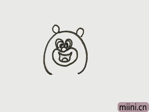 熊二怎么画