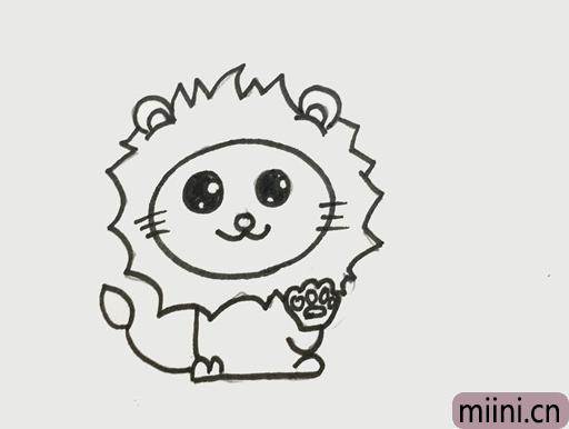 狮子座怎么画