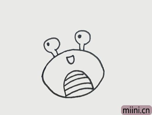 巨蟹座的画法