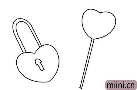 爱心锁05