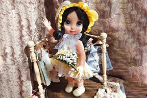bjd前开连衣裙的娃衣制作步骤教程