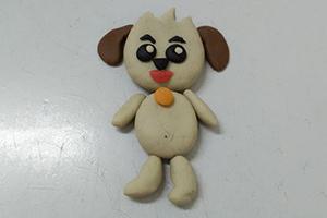 简单小狗哈利的粘土制作步骤教程
